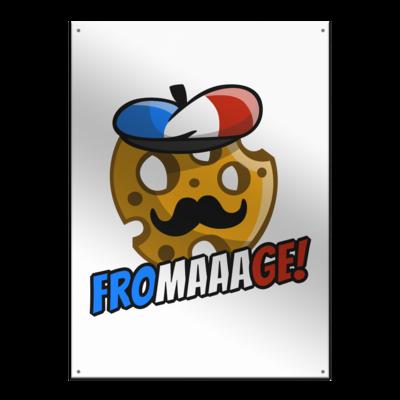 Motiv: Metallschild - Fromaaage