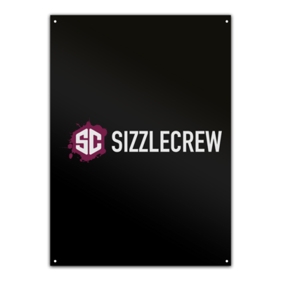 Motiv: Metallschild - SizzleCrew