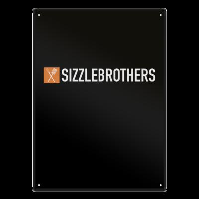 Motiv: Metallschild - SizzleBrothers Logo