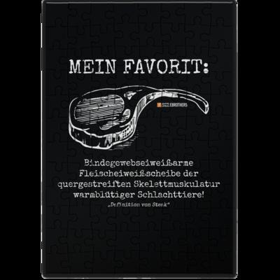 Motiv: Puzzle - Definition Steak