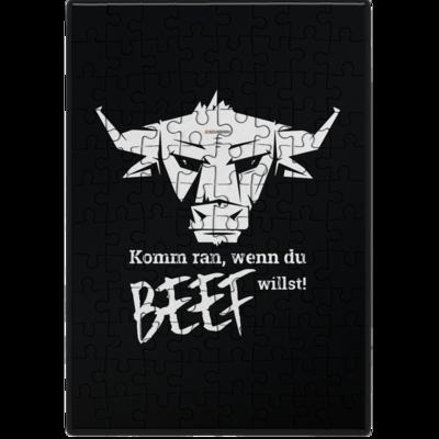 Motiv: Puzzle - Willste Beef?