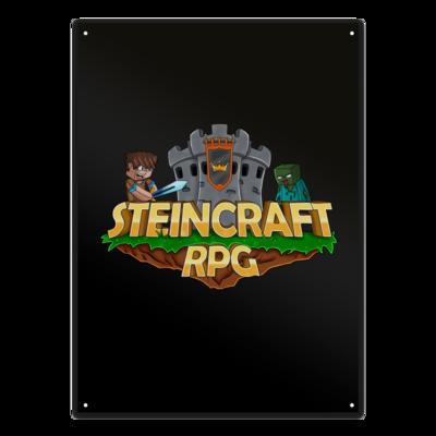 Motiv: Metallschild - SteinCraftRPG