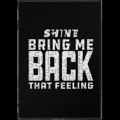 Motiv: Puzzle - Bring me back that feeling
