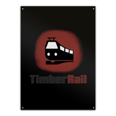 Motiv: Metallschild - Fraktion TimberRail