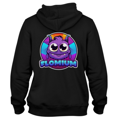 Motiv: Two-Tone Hoodie - FLOMIUM Logo