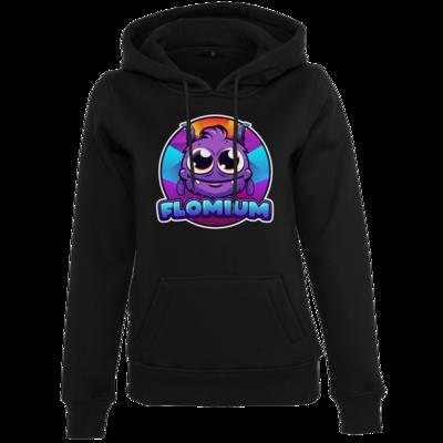 Motiv: Womens Heavy Hoody - FLOMIUM Logo