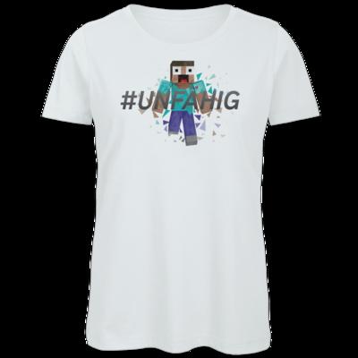 Motiv: Organic Lady T-Shirt - Poly Unfähig