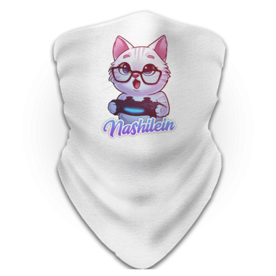 Motiv: Schlauchtuch - Nashi Logo + Schriftzug