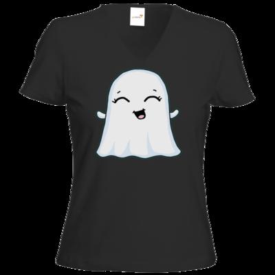 Motiv: T-Shirt Damen V-Neck Classic