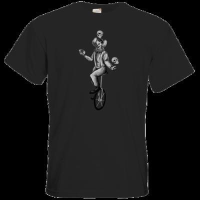 Motiv: T-Shirt Premium FAIR WEAR - The skull juggler