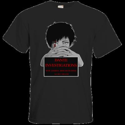 Motiv: T-Shirt Premium FAIR WEAR - Dante Investigations