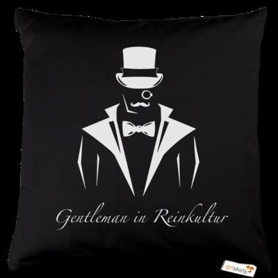 Motiv: Kissen Baumwolle - Gentleman Only