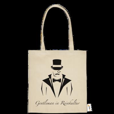 Motiv: Baumwolltasche - Gentleman Only