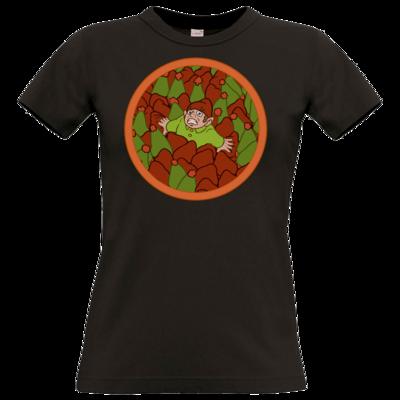 Motiv: T-Shirt Damen Premium FAIR WEAR - Wichtelwald