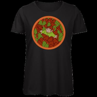Motiv: Organic Lady T-Shirt - Wichtelwald