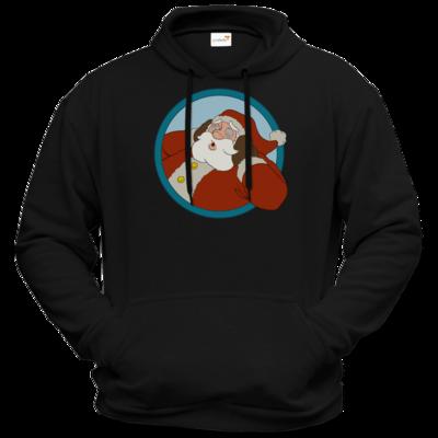 Motiv: Hoodie Premium FAIR WEAR - Weihnachtsmann