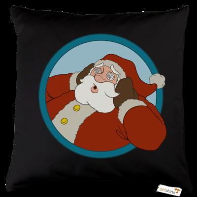 Motiv: Kissen Baumwolle - Weihnachtsmann