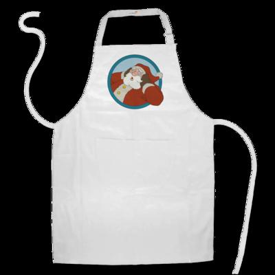 Motiv: Schürze - Weihnachtsmann