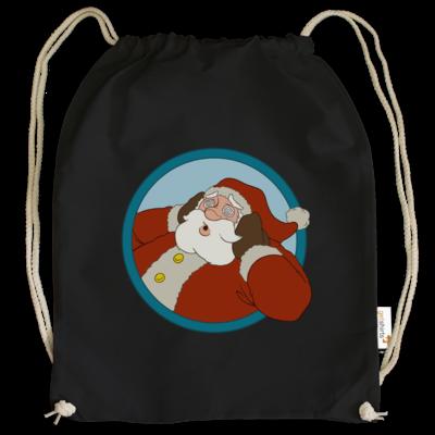 Motiv: Cotton Gymsac - Weihnachtsmann