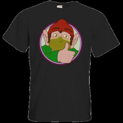 Motiv: T-Shirt Premium FAIR WEAR - Frodo mit Maske