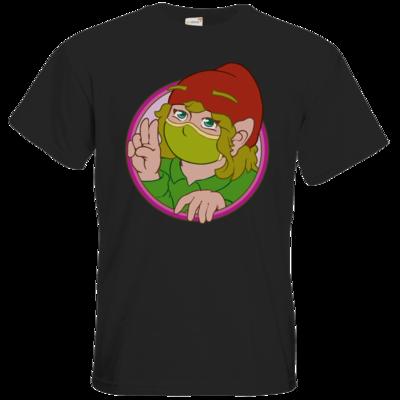 Motiv: T-Shirt Premium FAIR WEAR - Esmeralda mit Maske