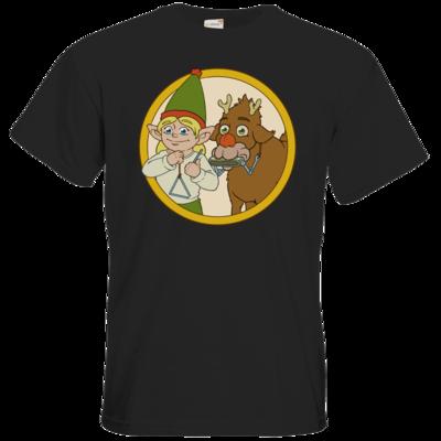 Motiv: T-Shirt Premium FAIR WEAR - Wichtelruter Spatzen