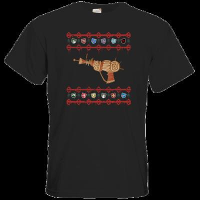Motiv: T-Shirt Premium FAIR WEAR - Zombie Weihnachten