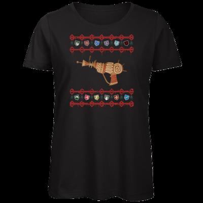 Motiv: Organic Lady T-Shirt - Zombie Weihnachten