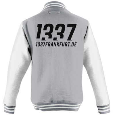 Motiv: College Jacke - 1337 Frankfurt b/w