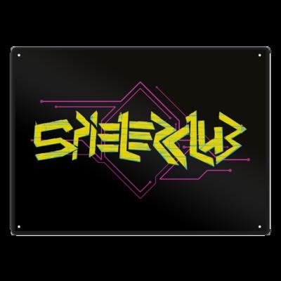 Motiv: Metallschild - Cyberclub