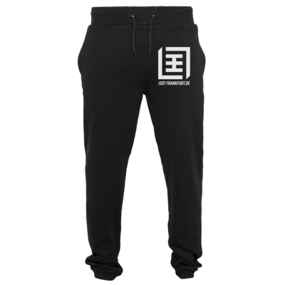 Motiv: Heavy Sweatpants - Logo b/w