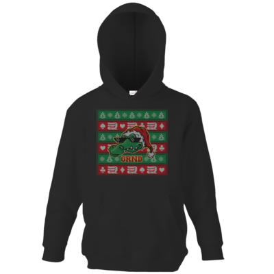 Motiv: Kids Hooded Sweat - Ugly XMas