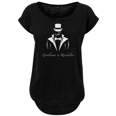 Motiv: Ladies Long Slub Tee - Gentleman Only