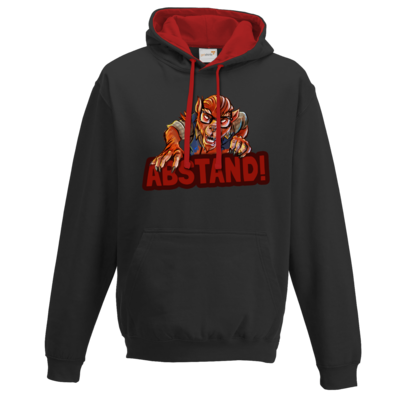 Motiv: Two-Tone Hoodie - Welf - Abstand