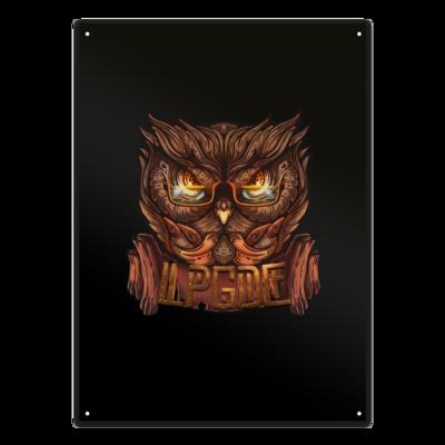 Motiv: Metallschild - Tribal_color