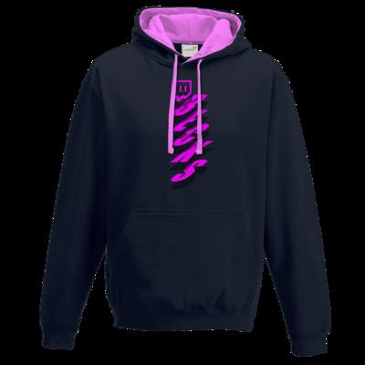 Motiv: Two-Tone Hoodie - twitch becks pink