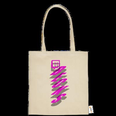 Motiv: Baumwolltasche - twitch becks pink