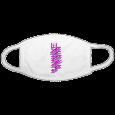 Motiv: Gesichtsmaske - twitch becks pink
