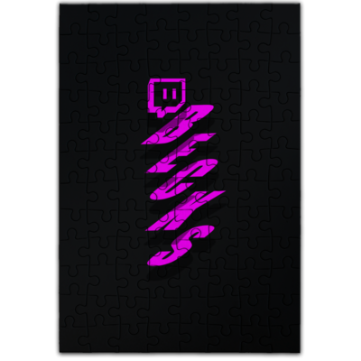 Motiv: Puzzle - twitch becks pink