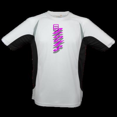 Motiv: Laufshirt Running T - twitch becks pink