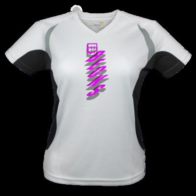 Motiv: Laufshirt Lady Running T - twitch becks pink