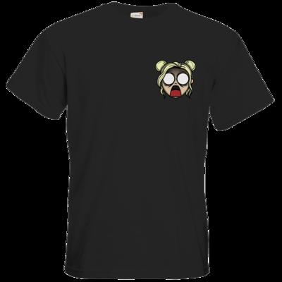 Motiv: T-Shirt Premium FAIR WEAR - Panik bei Fee