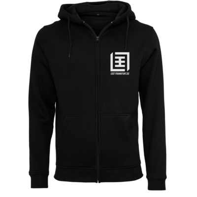 Motiv: Heavy Zip-Hoodie - Logo b/w