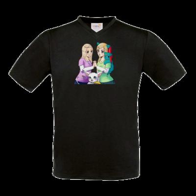 Motiv: T-Shirt V-Neck FAIR WEAR