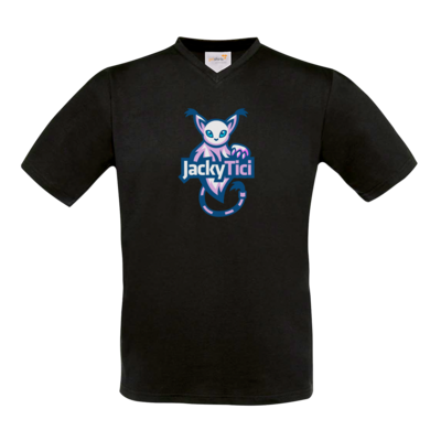 Motiv: T-Shirt V-Neck FAIR WEAR - Logo
