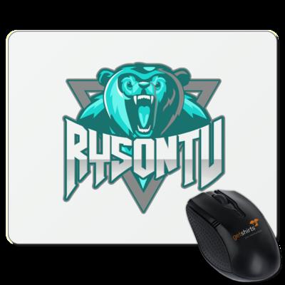 Motiv: Mousepad Textil - RysonTV_Logo