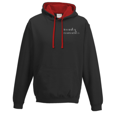 Motiv: Two-Tone Hoodie - 'Outminded' -  Front & Back