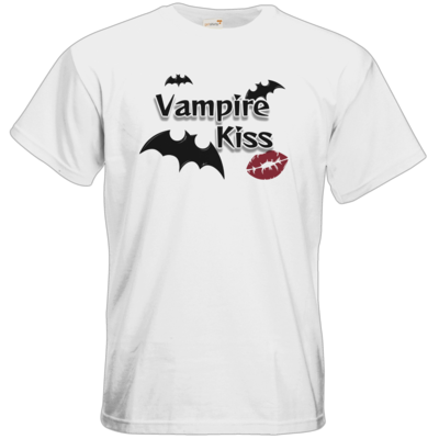 Motiv: T-Shirt Premium FAIR WEAR - Vampire Kiss