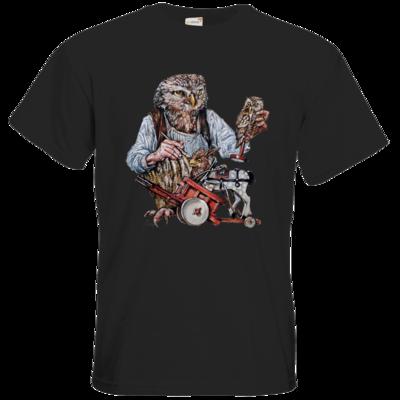 Motiv: T-Shirt Premium FAIR WEAR - Eulenschnitzer
