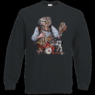 Motiv: Sweatshirt Classic - Eulenschnitzer